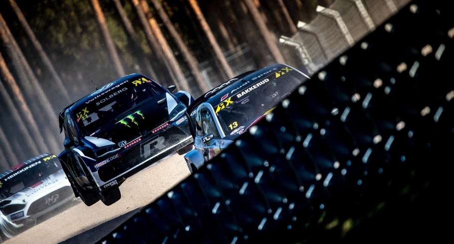 Sunday images from the 2018 World RX of Latvia