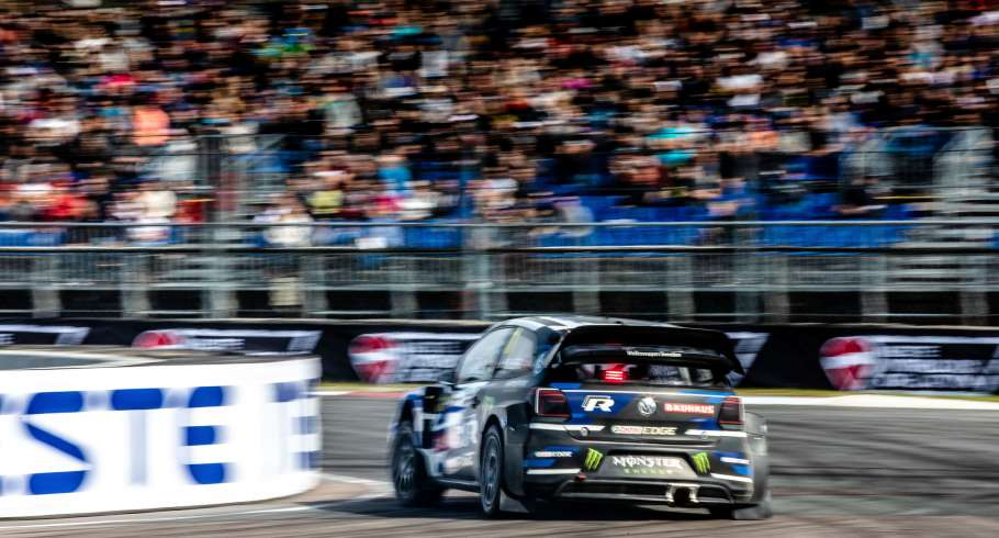 Saturday images from the 2018 World RX of Latvia
