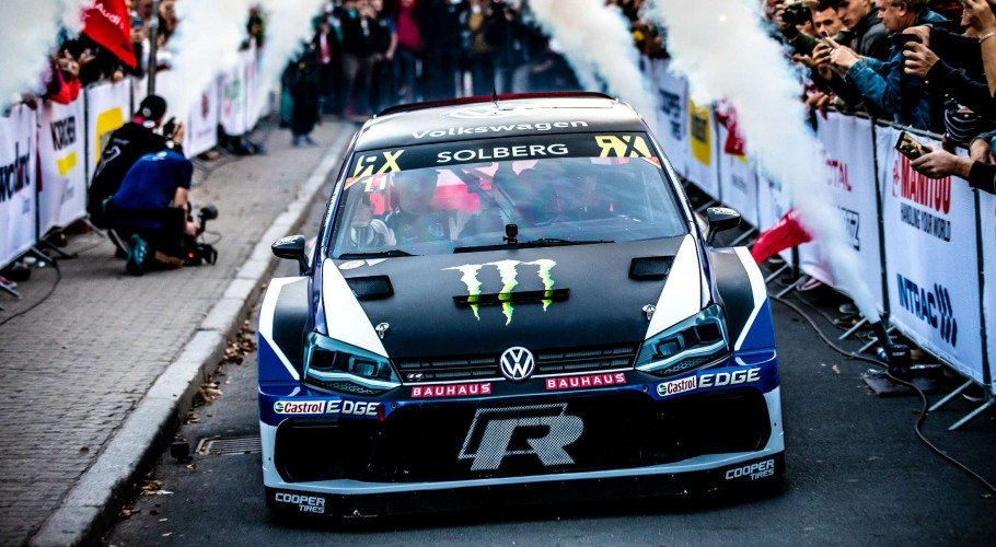 Day 1 photos from the 2018 World RX of Latvia