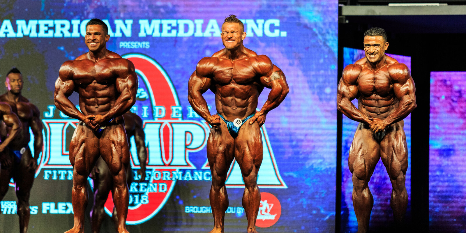 Images from the 2018 Mr. Olympia in Las Vegas