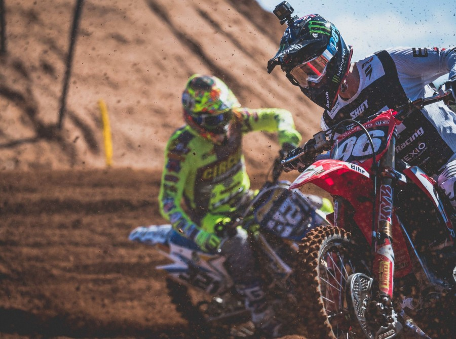 Actions shots practices day 1 MXGP Valencia