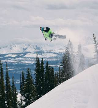 Action and Lifestyle photos of Monster Energy Snowbike athlete, Cody Matechuk