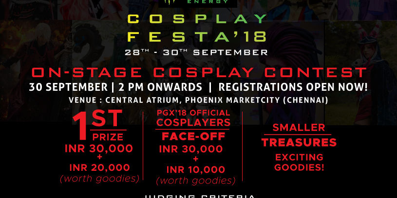 Poster to use on website to support gaming event