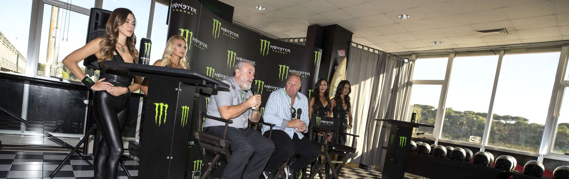 Dave Gowland & Youthstream at the 2018 Monster Energy MXGP announcement