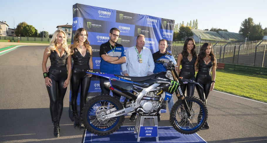 Dave Gowland & Yamaha at the 2018 Monster Energy MXGP announcement