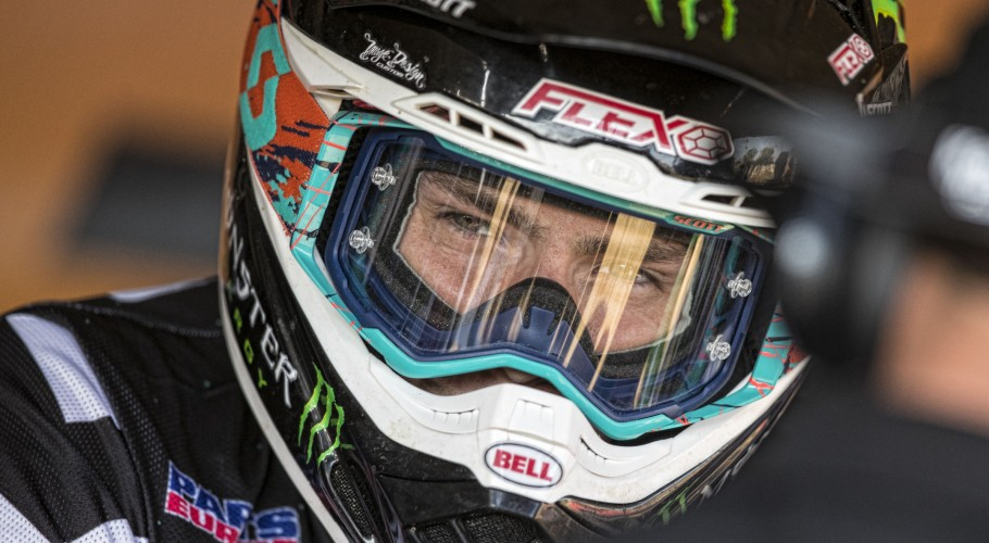 Julien Lieber in action at MXGP Italy, Imola 2018