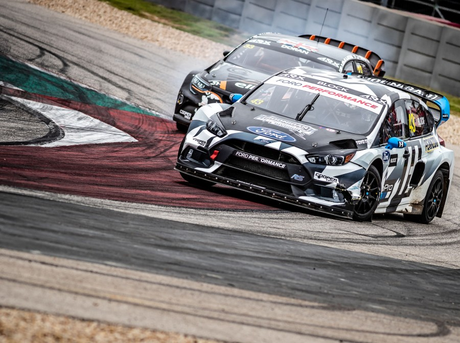 Saturday images from the 2018 World RX of USA