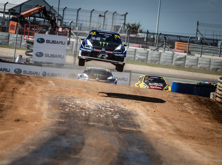 Sunday images from the 2018 World RX of USA