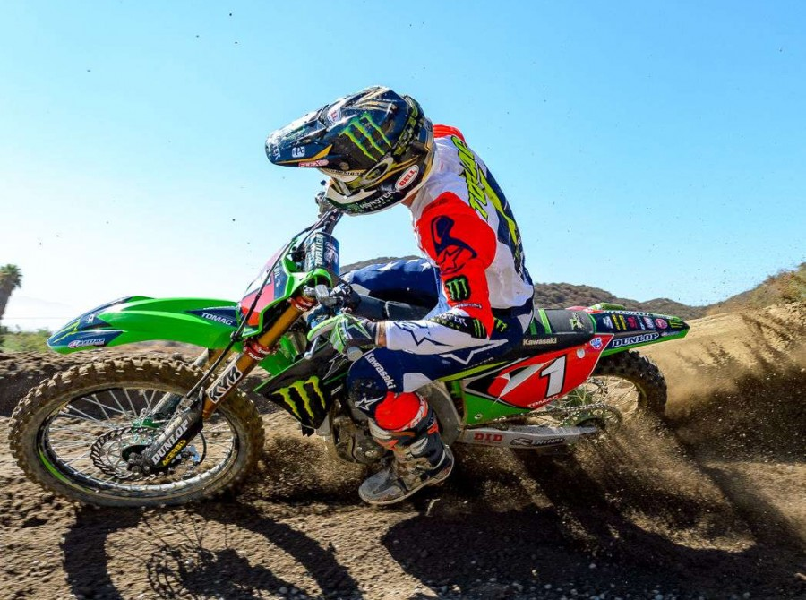 Team USA –MXON 2018 training day