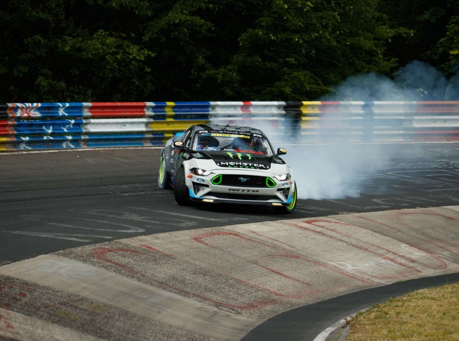 Image from the Nurburgring Drift Project