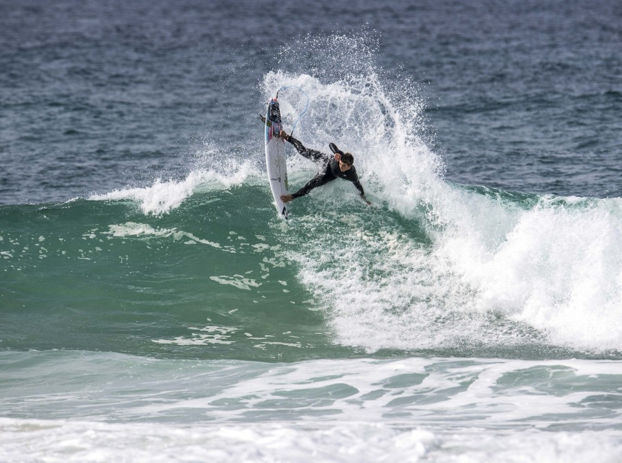 Griffin Colapinto surf images for This Way In Pro in France
