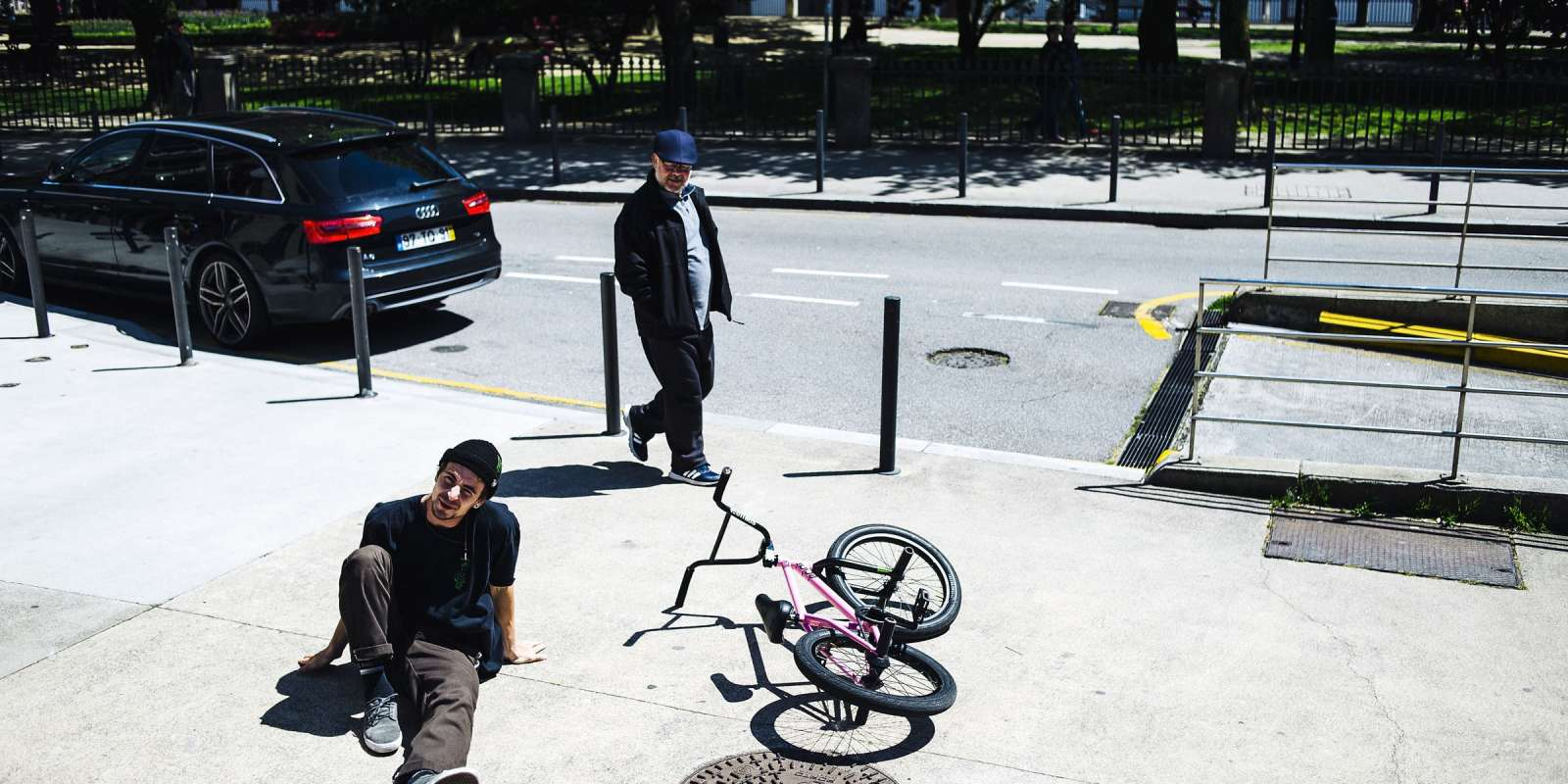 Lost in BMX series, new episode taking place in Porto, Portugal