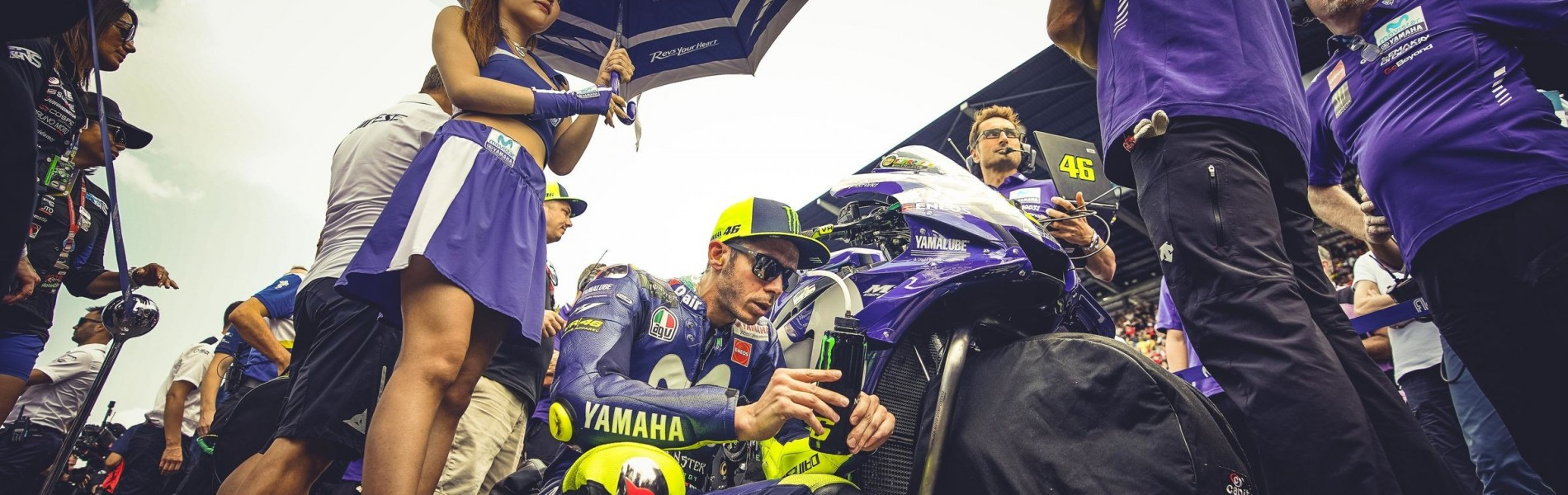 Valentino Rossi at the 2018 GP of Thailand