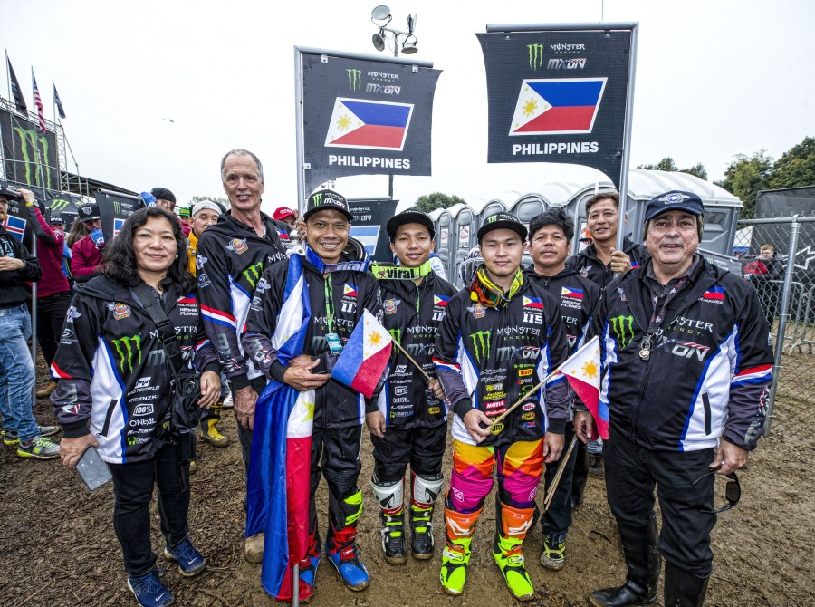 Team Philippines at the 2018 Motocross of Nations