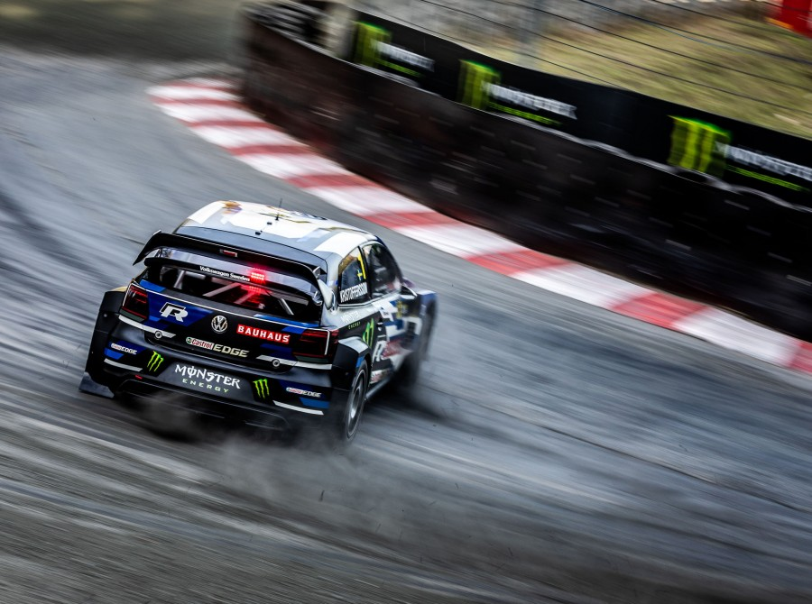 Saturday images from the 2018 World RX of Germany