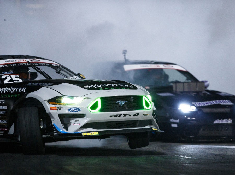 Vaughn at Round 8: Title Fight Formula Drift in Irwindale