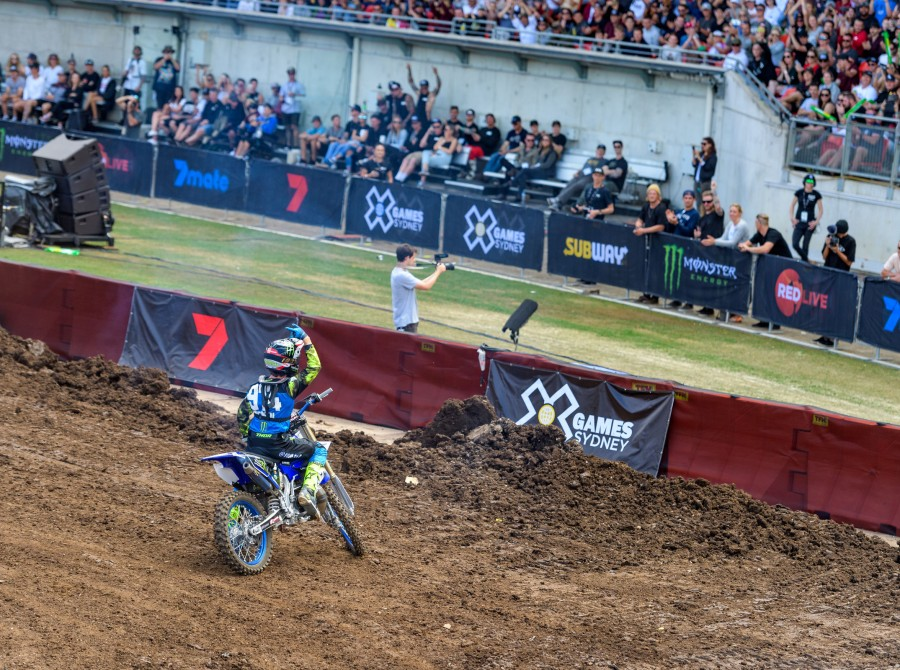 Images from the FMX event at the 2018 Aus X Games
