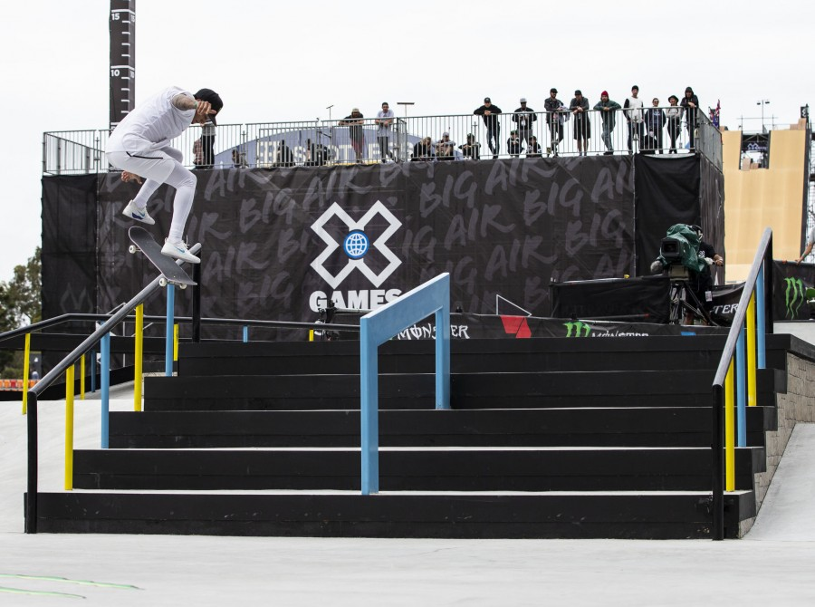 Images from the Skate event at the 2018 Aus X-Games