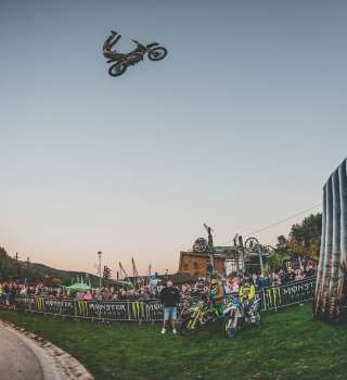 FMX Showtime, Freestyle motocross and MTB event with monster music ambassadors Ego and DJ Lucky Boy