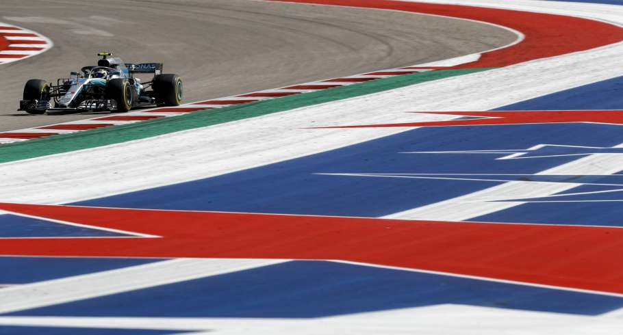Images from the 2018 US Grand Prix