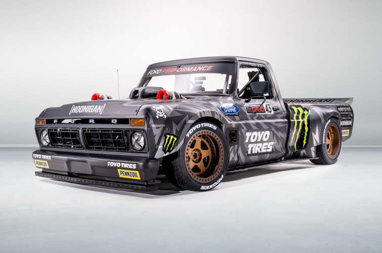 Images of Ken Block's Hoonitruck - as used in Gymkhana 10