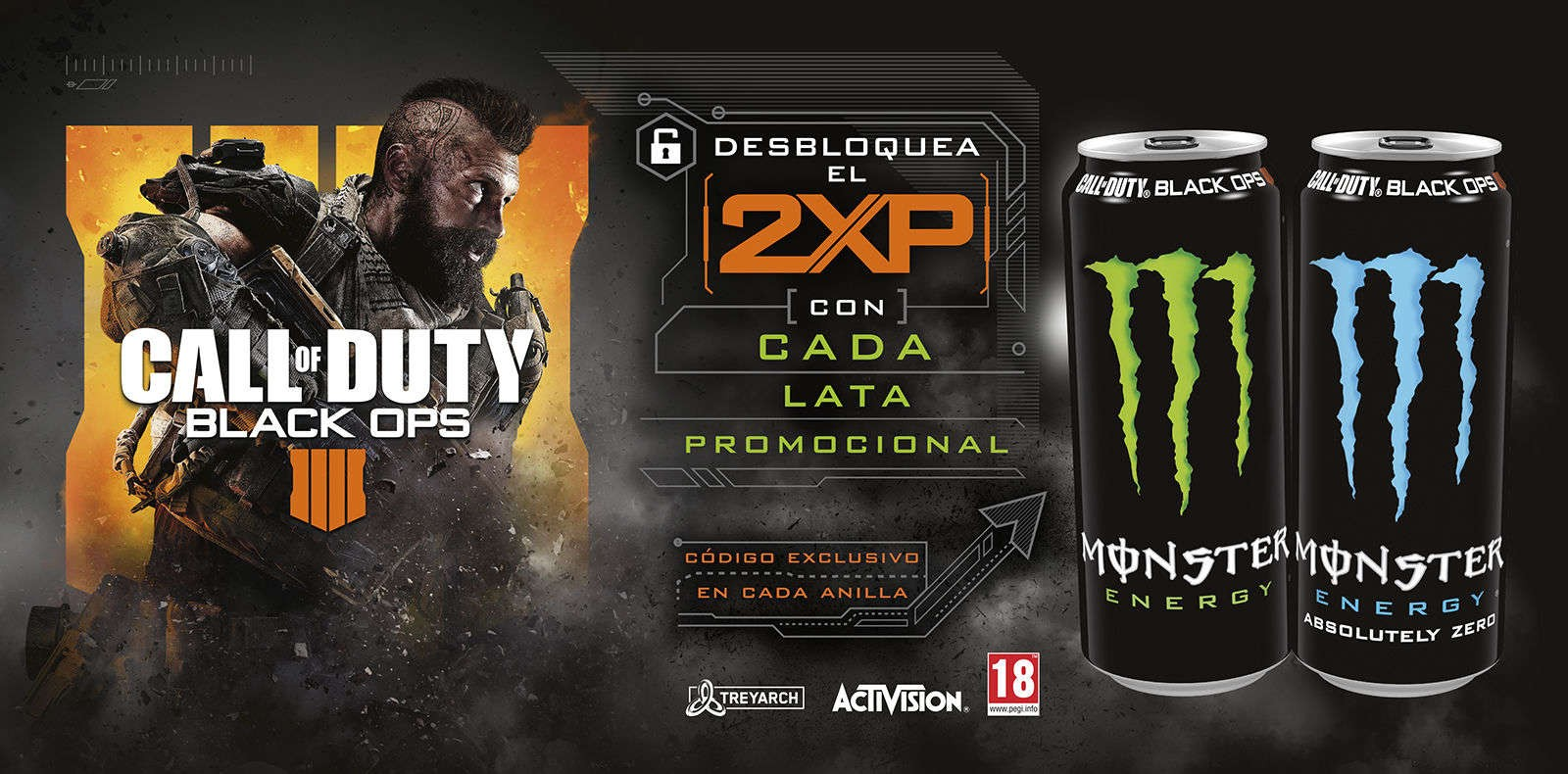 Monster Energy x Call of Duty: Black Ops 4
