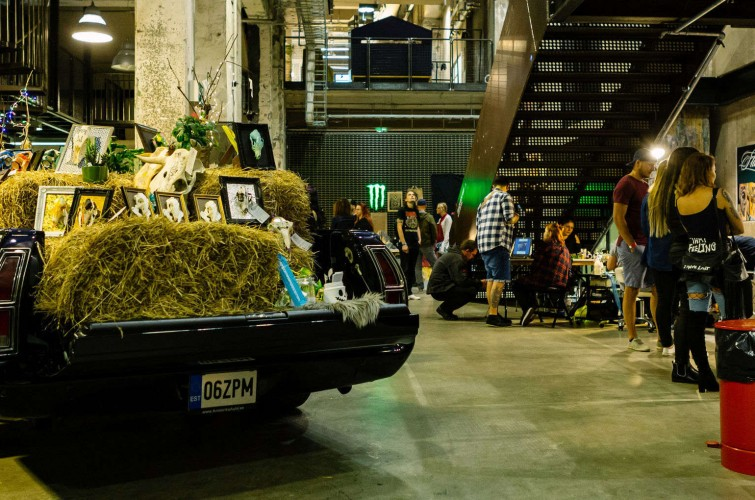 Pictures from Street Mirror Expo - a tattoo convention in Tallinn, Estonia