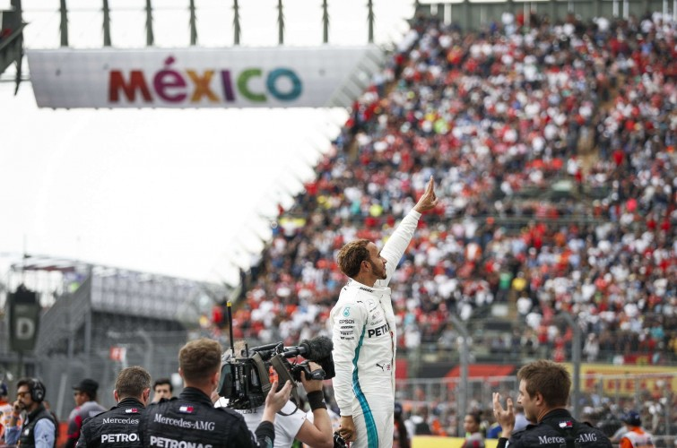 Sunday images from the 2018 Mexican Grand Prix