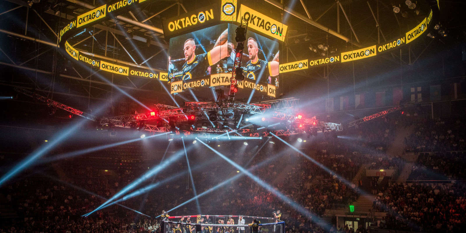 Slovak MMA Tournament Oktagon 9 taking place in Bratislava