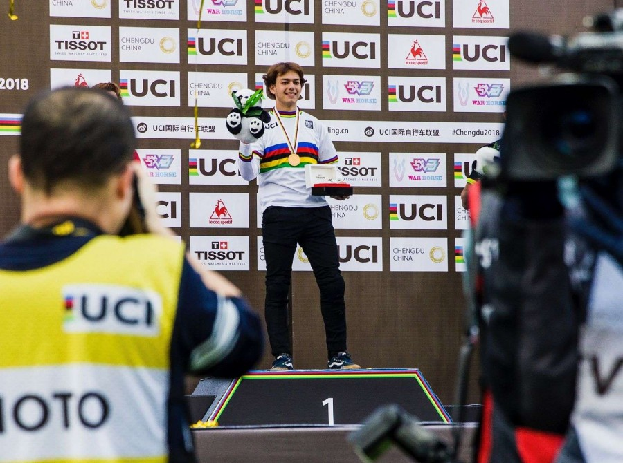 Image from the 2018 UCI Urban Cycling World Championships in Chengdu, China
