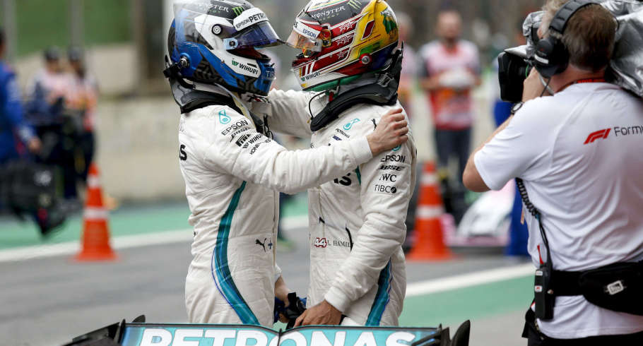 Sunday images from the 2018 Brazilian Grand Prix