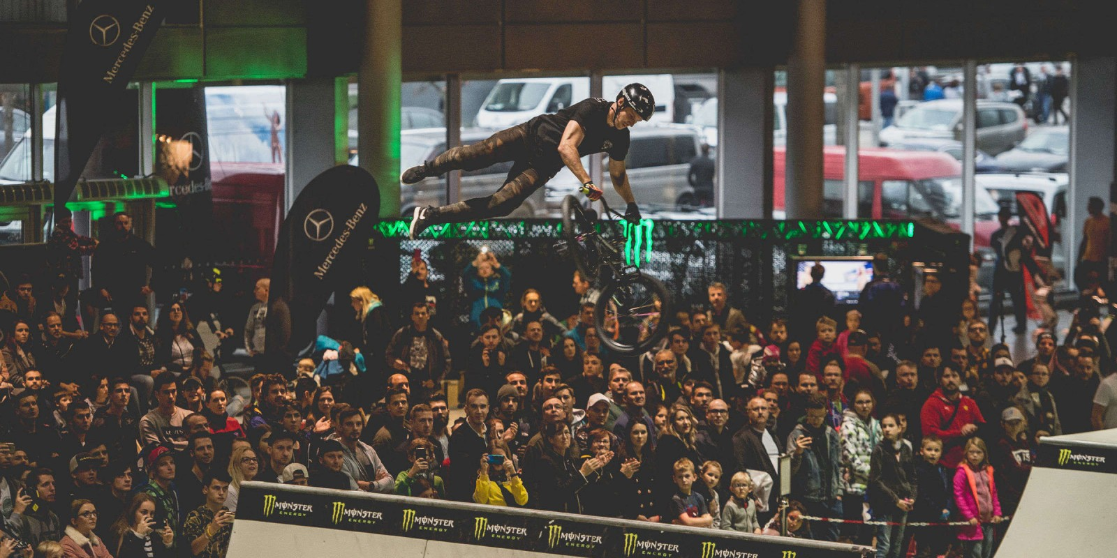 Grand BMX competition taking place in Brno, CZ 2018
