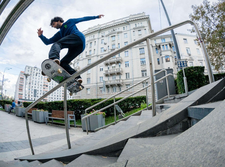 WCS tour with ME riders in Moscow