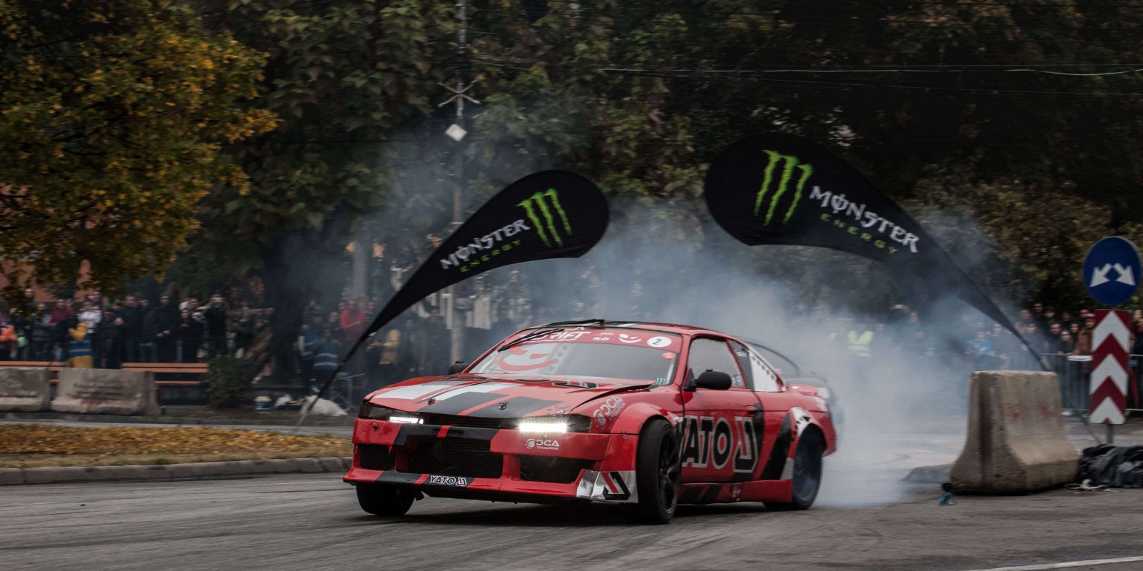 Event imagery taken at the last stage of the Romanian Drift Championship in Baia Mare, Romania.
