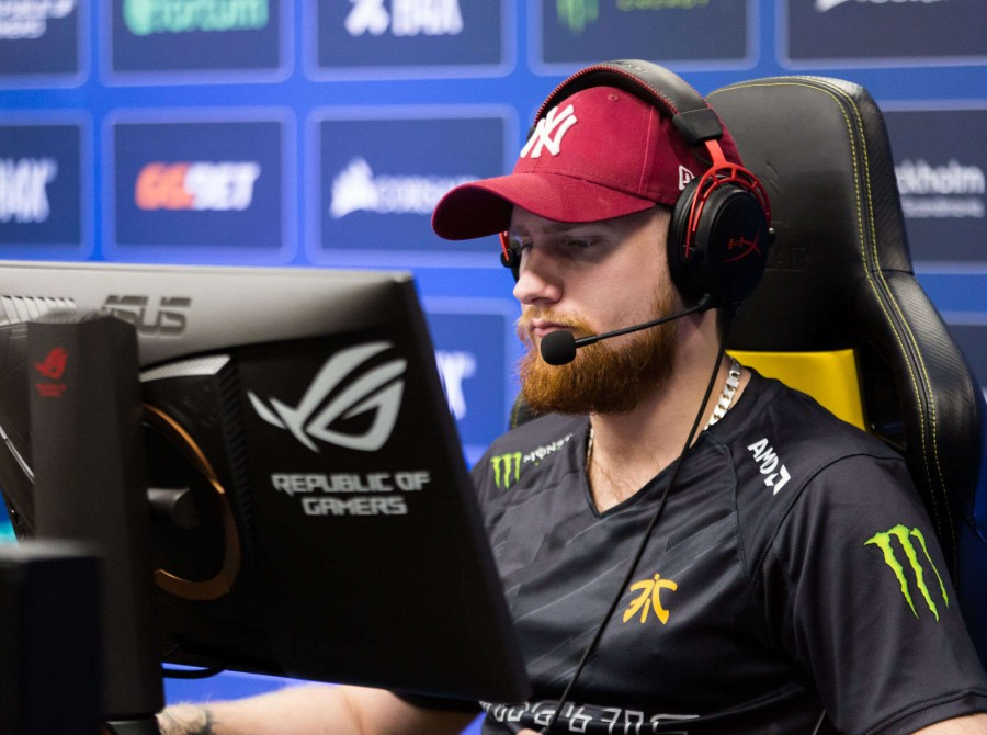 Photos of Fnatic CSGO playing at DreamHack Masters in Stockholm, Sweden