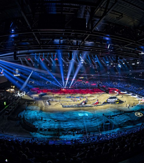 Atmosphere at the 2018 Paris Supercross