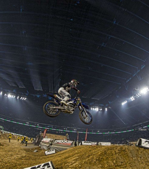 Dylan Ferrandis at the 2018 Paris Supercross