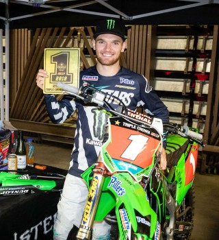 Photos from the Canadian Supercross Finals Triple Crown Series in Hamilton, Ontario