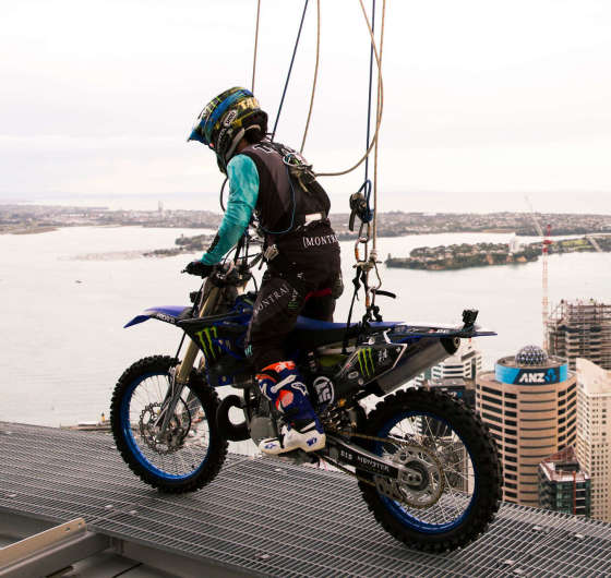 Taka Higashino Photos Sky Tower Stunt NZ
