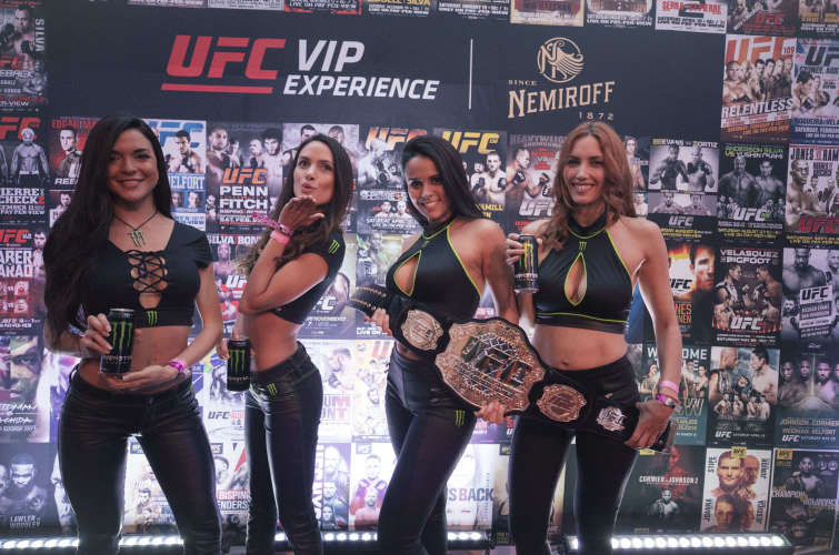 Photos and videos from UFC Fight Night in Argentina