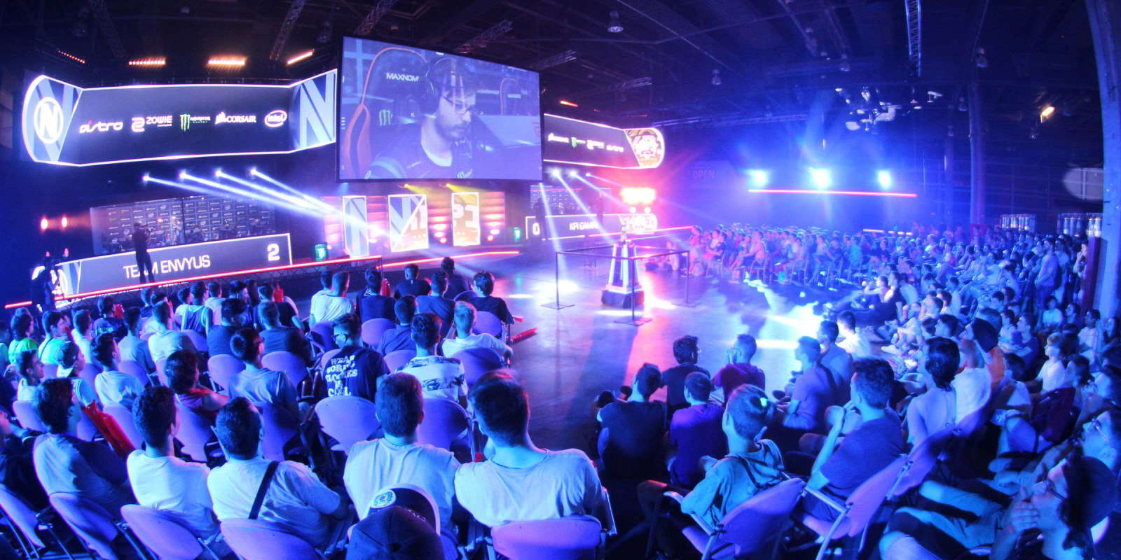 Image from the 2017 Dreamhack event at Valencia, Spain
