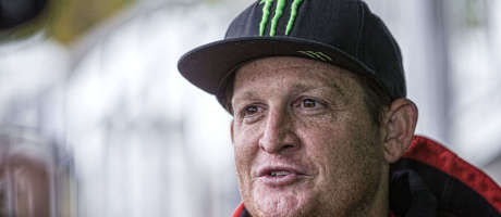 Ricky Carmichael at the 2018 Motocross of Nations