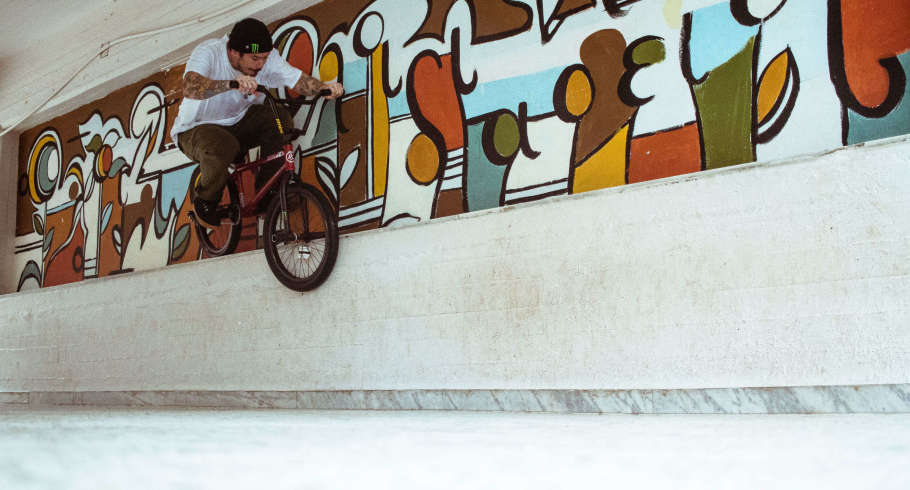 Photos from Monster Energy bmx rider Ben Lewis from nis recent trip to Greece