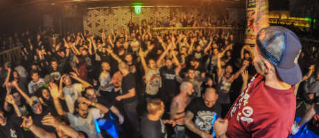 The annual Hardcore X-mass fest was supported by ME and Last Hope and Piranha also supported by ME played at the fest