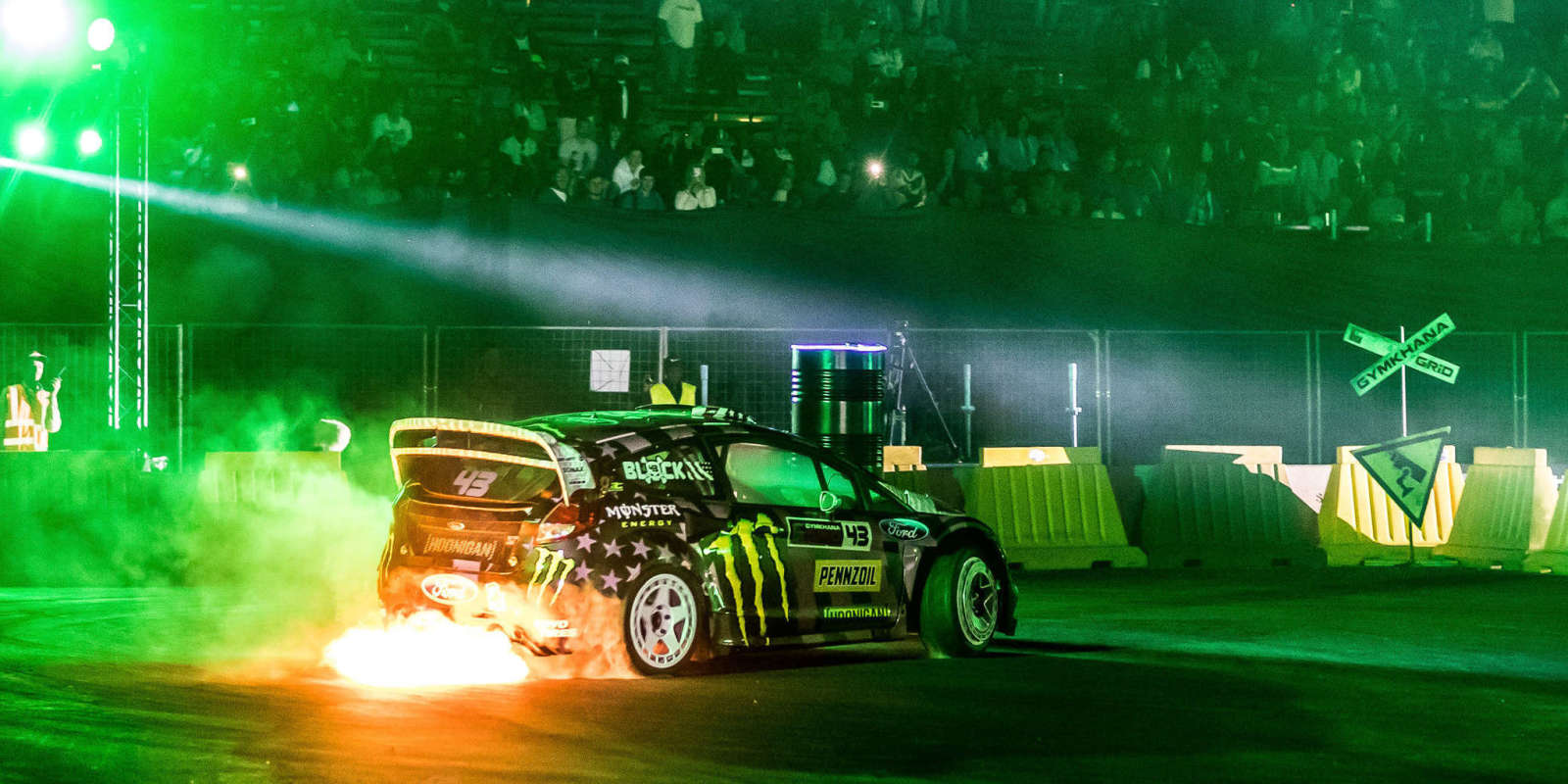 Shots from Saturday's Gymkhana grid qualifiers.