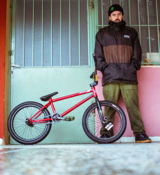 Photos from Monster Energy bmx rider Ben Lewis during his recent visit in Greece
