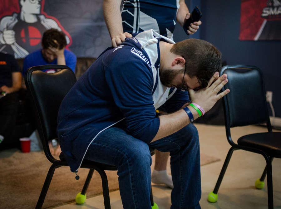 Photos of Team Liquid Hungrybox at Smash Summit 6 in Walnut, CA at the Beyond The Summit house.