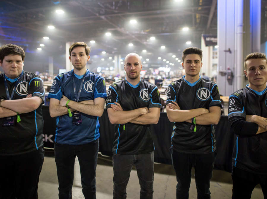 Photos of Team Envy CSGO as they play at DreamHack Atlanta