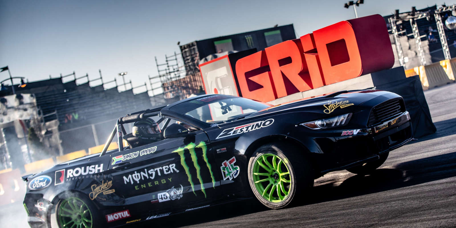 Practice shots from Gymkhana Grid 2018 in Johannesburg, South Africa