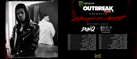 monster energy outbreak tour 2019 tour admats for a boogie wit da hoodie